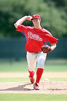August 12, 2008: Jason Knap of the GCL Phillies.  Photo by: Chris Proctor/Four Seam Images