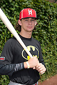Brendan Rodgers (2) of Lake Mary High School in Longwood, Florida during the Under Armour All-American Game on August 16, 2014 at Wrigley Field in Chicago, Illinois.  (Mike Janes/Four Seam Images)