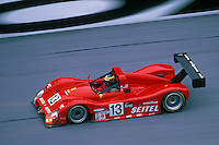 David Brabham, #13 Risi Ferrari..2002 Rolex 24 at Daytona, Daytona International Speedway, Daytona Beach, Florida USA Feb. 2002.(Sports Car Racing)