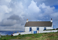 SC - INNER HEBRIDES - ISLE of MULL<br /> Tiny fishing village Fionnphort at the southern end of Mull<br /> <br /> Full size: 66,7 MB