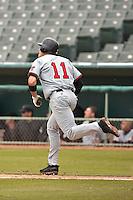 SAN ANTONIO, TX - FEBRUARY 23, 2008: The University of Louisiana at Lafayette Ragin' Cajuns vs. The Texas Tech University Red Raiders Baseball at Wolff Stadium. (Photo by Jeff Huehn)