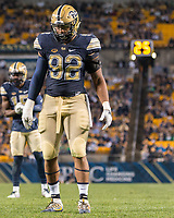 Pitt defensive lineman Rori Blair. The Pitt Panthers defeated the Marshall Thundering Herd 43-27 on October 1, 2016 at Heinz Field in Pittsburgh, Pennsylvania.