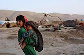 Khogebha Hoddin, Afghanistan October 2001<br /> <br /> Refugee camp near Khogebha Hoddin.