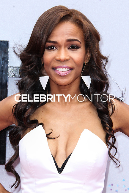 LOS ANGELES, CA - JUNE 30: Michelle Williams attends the 2013 BET Awards at Nokia Theatre L.A. Live on June 30, 2013 in Los Angeles, California. (Photo by Celebrity Monitor)