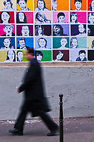 Europe/France/Ile de France/75011/Paris: Scènes de vie urbaine rue Jean Aicard [Non destiné à un usage publicitaire - Not intended for an advertising use]