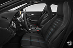 Front seat view of a 2018 Mercedes Benz CLA Coupe Business Solution 4 Door Sedan front seat car photos