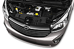Car Stock 2016 Opel Vivaro Business 4 Door Combi Engine  high angle detail view