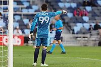 SAINT PAUL, MN - MAY 15: Phelipe Megiolaro #99 of FC Dallas during a game between FC Dallas and Minnesota United FC at Allianz Field on May 15, 2021 in Saint Paul, Minnesota.