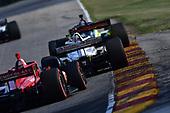 #15: Graham Rahal, Rahal Letterman Lanigan Racing Honda, #8: Marcus Ericsson, Chip Ganassi Racing Honda