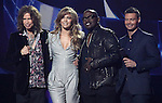 Steven Tyler,Jennifer Lopez,Randy Jackson and Ryan Seacrest  at The AMERICAN IDOL Season Ten judges' panel Announcement held at The Forum in Los Angeles, California on September 22,2010                                                                               © 2010 Hollywood Press Agency