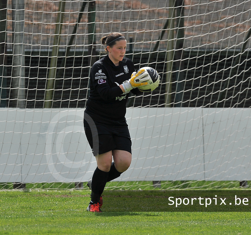 Club Brugge Dames - STVV Sint Truidense VV : Anneke Wijnants.foto DAVID CATRY / Nikonpro.be