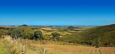 Paysage de Farino, vue sur la baie de Teremba, côte ouest Nouvelle-Calédonie