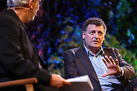 Monday 26 May 2014, Hay on Wye, UK<br /> Pictured: Steven Moffat<br /> Re: The Hay Festival, Hay on Wye, Powys, Wales UK.