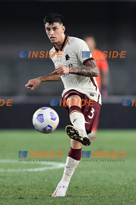 Roger Ibanez <br /> Serie A football match between Hellas Verona and AS Roma at Marcantonio Bentegodi Stadium in Verona (Italy), September 19th, 2020. Photo Image Sport / Insidefoto