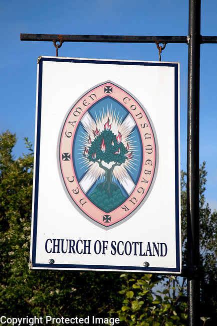 Church of Scotland Sign