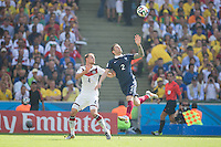 Rio de Janeiro, Brazil - Friday, July 4, 2014: Germany defeats France 1-0 to advance out of the quarter finals at Maracana stadium.