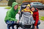 Enjoying a stroll in Killarney National park on Sunday, l to r: Toirdealbhach, Ferdia and Leonora O' Lionaird.