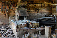 Blacksmith shop, Daniel Boone Homestead, Birdsboro, Pennsylvania, USA