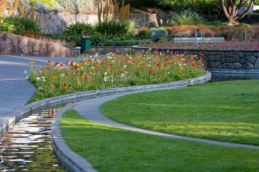 Town Gardens, Napier, north island, New Zealand.
