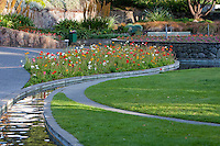 Town Gardens, Napier, north island, New Zealand.