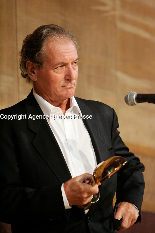 Claude Zidi, President of the Jury, World Film Festival 2004<br /> <br /> PHOTO :  Agence Quebec Presse