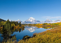 Oxbow Bend, Grand Tetons National Park, Wyoming