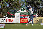 Danny Willett of England tees off the 18th hole during the 58th UBS Hong Kong Golf Open as part of the European Tour on 09 December 2016, at the Hong Kong Golf Club, Fanling, Hong Kong, China. Photo by Vivek Prakash / Power Sport Images