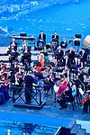 """Belvedere di Villa Rufolo<br /> Filarmonica """"Gioachino Rossini"""" di Pesaro <br /> Direttore Donato Renzetti<br /> <br /> Musiche di Respighi, Britten, Rossini"""