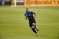 SAN JOSE, CA - SEPTEMBER 19: Judson #93 of the San Jose Earthquakes before a game between Portland Timbers and San Jose Earthquakes at Earthquakes Stadium on September 19, 2020 in San Jose, California.