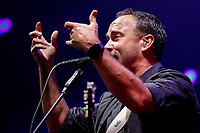 SÃO PAULO, SP 26.09.2019: DAVE MATTHEWS BAND-SP - A Dave Matthews Band, se apresentou na noite desta sexta-feira (27) no Ginásio Ibirapuera, zona sul da capital paulista. O show faz parte do festival Itaipava de Som a Sol. No domingo, dia 29, a banda se apresenta no Rock in Rio. (Foto: Ale Frata/Código19)