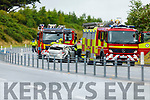 The road traffic accident on the Tralee by pass on Saturday afternoon.