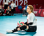 Payden Vair, Tokyo 2020 - Sitting Volleyball // Volleyball Assis.<br /> Canada takes on Japan in sitting volleyball // Le Canada affronte le Japon en volleyball assis. 09/01/2021.