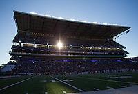 Husky Stadium on a sunny November day.