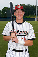 Jonathan Meyer #16 of the Greeneville Astros at Pioneer Park June 28, 2009 in Greeneville, Tennessee. (Photo by Brian Westerholt / Four Seam Images)