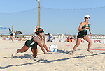Tulane hosts Florida State (FSU) in their first intercollegiate sand volleyball match and the first in the state of Louisiana at The Dock in Slidell.  FSU went on to defeat Tulane, 5-0.