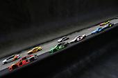 #19: Martin Truex Jr., Joe Gibbs Racing, Toyota Camry Bass Pro Shops and #42: Kyle Larson, Chip Ganassi Racing, Chevrolet Camaro Clover