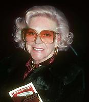Alice Faye 1978<br /> Photo By John Barrett/PHOTOlink