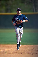 Villanova Wildcats center fielder David Gulati (17) during a game against the Dartmouth Big Green on February 27, 2016 at South Charlotte Regional Park in Punta Gorda, Florida.  Villanova defeated Dartmouth 14-1.  (Mike Janes/Four Seam Images)