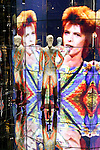 David Bowie Is exhibition debuts in Tokyo on January 5, 2017 in Tokyo, Japan. More than 300 items were displayed including original costumes, handwritten lyrics, photographs and films of the legendary singer who passed away on January 10, 2016 at the age of 69. Ever since its kickoff at London's Victoria and Albert Museum (V&A) in 2013, the exhibition has travelled to various cities worldwide including Paris, Berlin and Chicago. The exhibition officially opens on January 8 which would have been Bowie's 70th birthday and runs til April 9. (Photo by Rodrigo Reyes Marin/AFLO)
