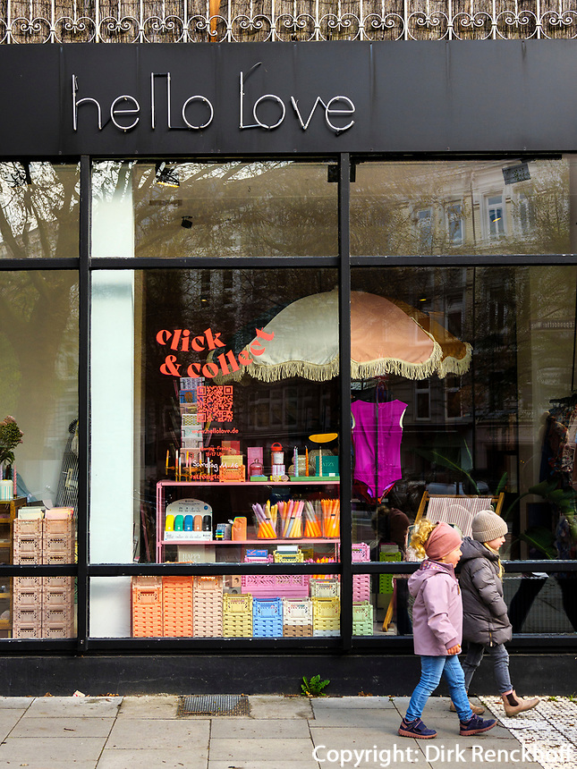 hello love Modeaccessoires, click and collect, Eppendorfer Weg 283 in Hamburg-Hoheluft-Ost, Deutschland, Europa<br /> hello love Modeaccessoires, click and collect, Eppendorfer Weg 283 in Hamburg-Hoheluft-Ost, Germany, Europe