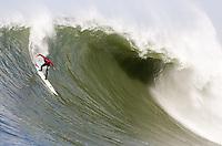Alex Martin. Mavericks Surf Contest in Half Moon Bay, California on February 13th, 2010.