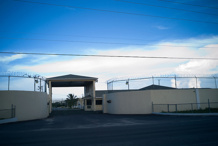 Her Majesty's Prison, aka Fox Hill Prison, in Nassau, Bahamas photographed on July 28, 2008 for Bloomberg Markets