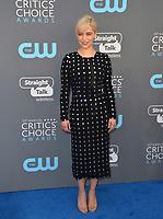 Emilia Clarke at the 23rd Annual Critics' Choice Awards at Barker Hangar, Santa Monica, USA 11 Jan. 2018<br /> Picture: Paul Smith/Featureflash/SilverHub 0208 004 5359 sales@silverhubmedia.com