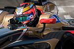 Jean-Eric Vergne of France from TECHEETAH competes in the Formula E Qualifying Session 2 during the FIA Formula E Hong Kong E-Prix Round 2 at the Central Harbourfront Circuit on 03 December 2017 in Hong Kong, Hong Kong. Photo by Victor Fraile / Power Sport Images