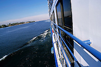 Cruise ship on the Nile river between Edfu and Luxor, Egypt.