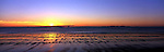 Australia Panorama - Sunrise at Yeppoon, Queensland.<br /> <br /> Image taken on large format panoramic 6cm x 17cm transparency. Available for licencing and printing. email us at contact@widescenes.com for pricing.