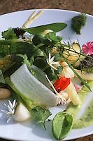 Europe/France/Midi-Pyrénées/12/Aveyron/Laguiole: Le gargouillou de légumes recette de Michel Bras