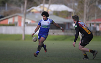 Action from the Wellington Rugby Union Paris Memorial Trophy Colts rugby match between Upper Hutt Rams and Northern United Blue at Maoribank Park in Upper Hutt, New Zealand on Saturday, 8 August 2020. Photo: Dave Lintott / lintottphoto.co.nz