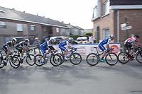 Later Winner Fernando Gaviria (COL/Quick Step Floors) speeding by<br /> <br /> 102nd Kampioenschap van Vlaanderen 2017 (UCI 1.1)<br /> Koolskamp - Koolskamp (192km)