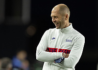 FORT LAUDERDALE, FL - DECEMBER 09: Gregg Berhalter head coach of the United States during a game between El Salvador and USMNT at Inter Miami CF Stadium on December 09, 2020 in Fort Lauderdale, Florida.